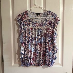 Floral Blouse by  RXB size medium